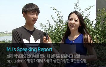mjs speaking report